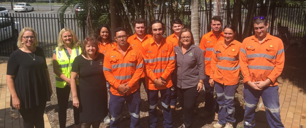 Eight Indigenous trainees take the next step in their civil
